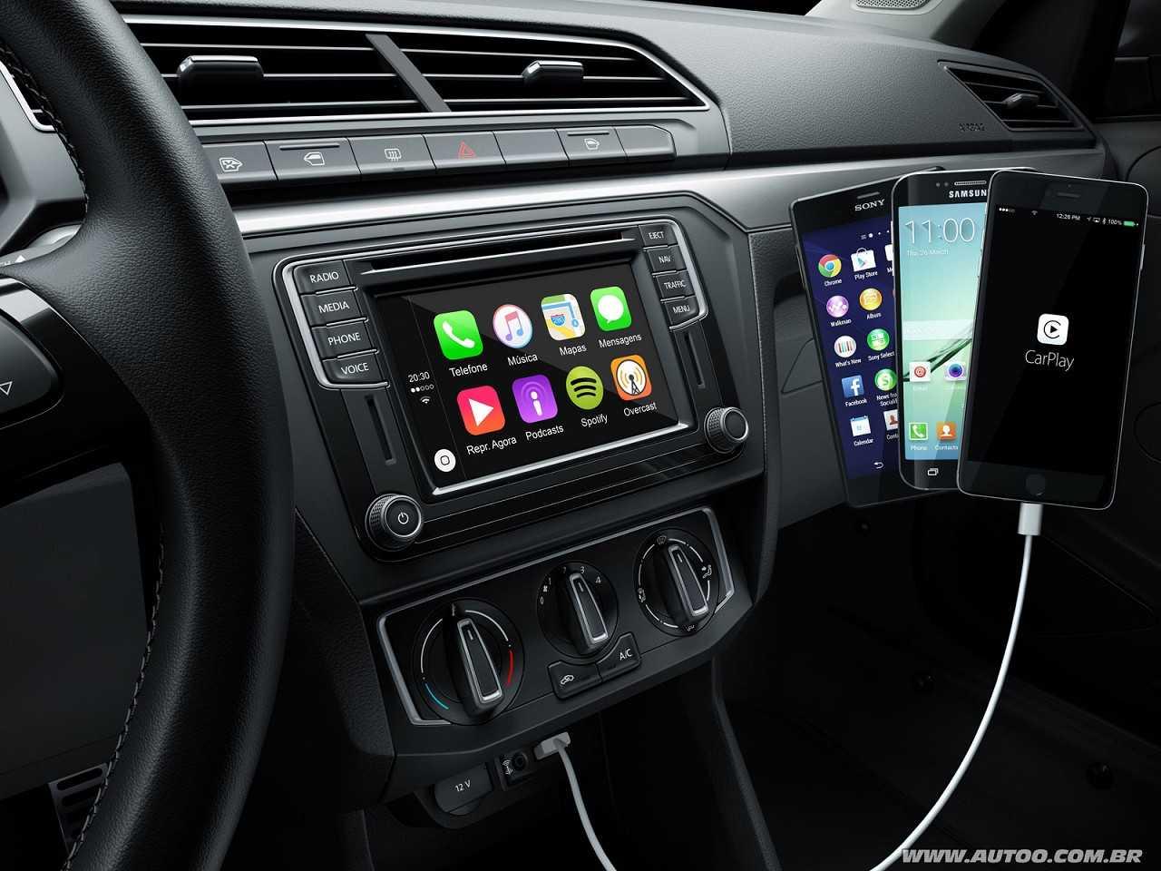 VolkswagenGol 2017 - painel