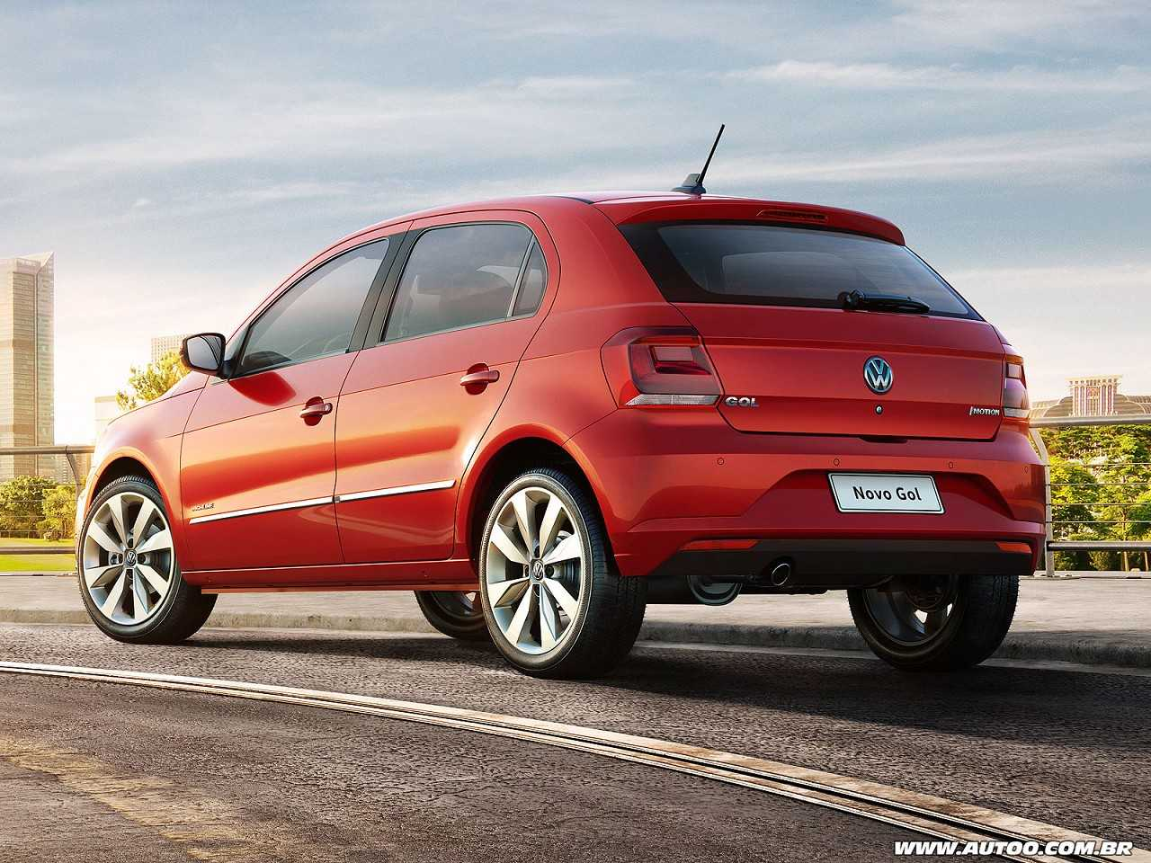 VolkswagenGol 2017 - ângulo traseiro