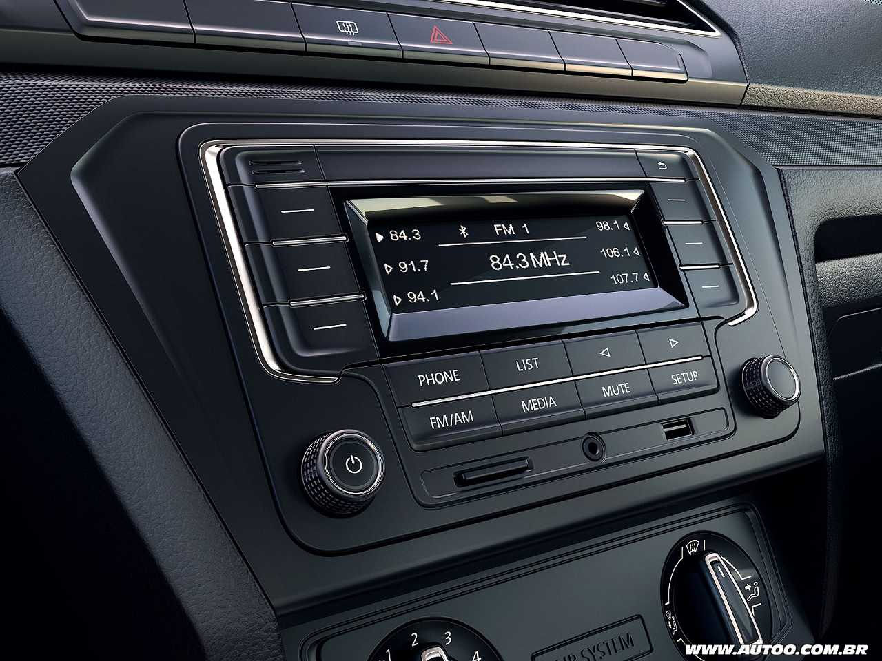 VolkswagenGol 2017 - console central