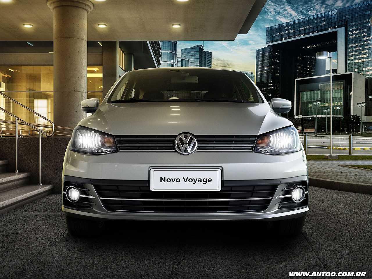 VolkswagenVoyage 2017 - frente