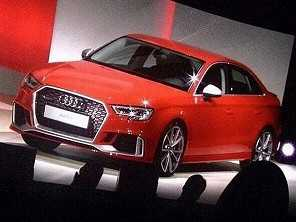 Audi prepara RS 3 Sedan de 405 cv