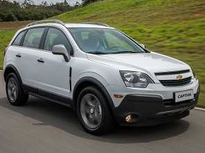 Sugestão para trocar o Chevrolet Captiva