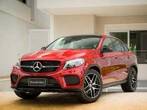 Mercedes-Benz lança novos GLC e GLE Coupé no Brasil
