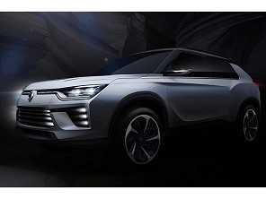 SsangYong vai mostrar dois novos SUVs em Genebra
