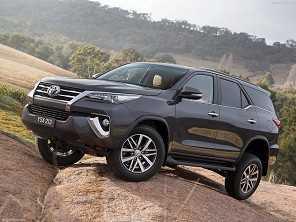 Descolada da Hilux, novo Toyota SW4 chega a partir de R$ 205 mil