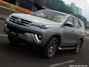 Um novo Toyota SW4 a peso de ouro