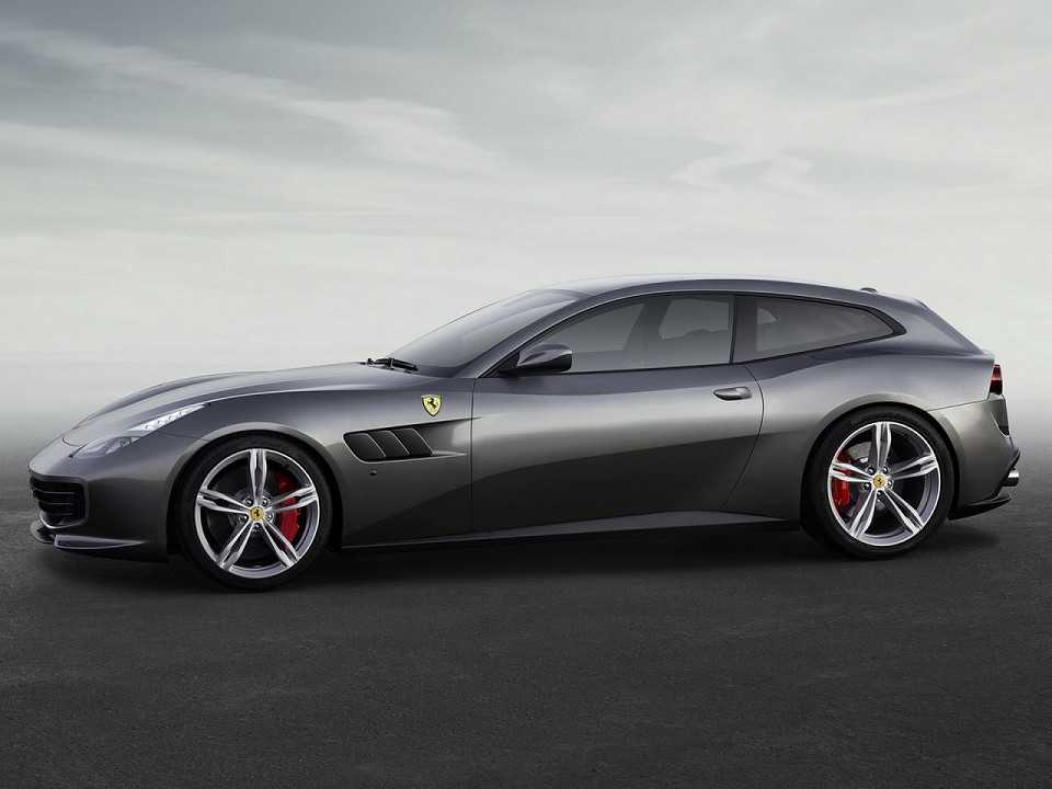 FerrariGTC4Lusso T 2016 - lateral