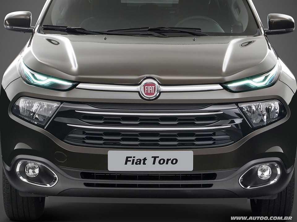 FiatToro 2017 - grade frontal