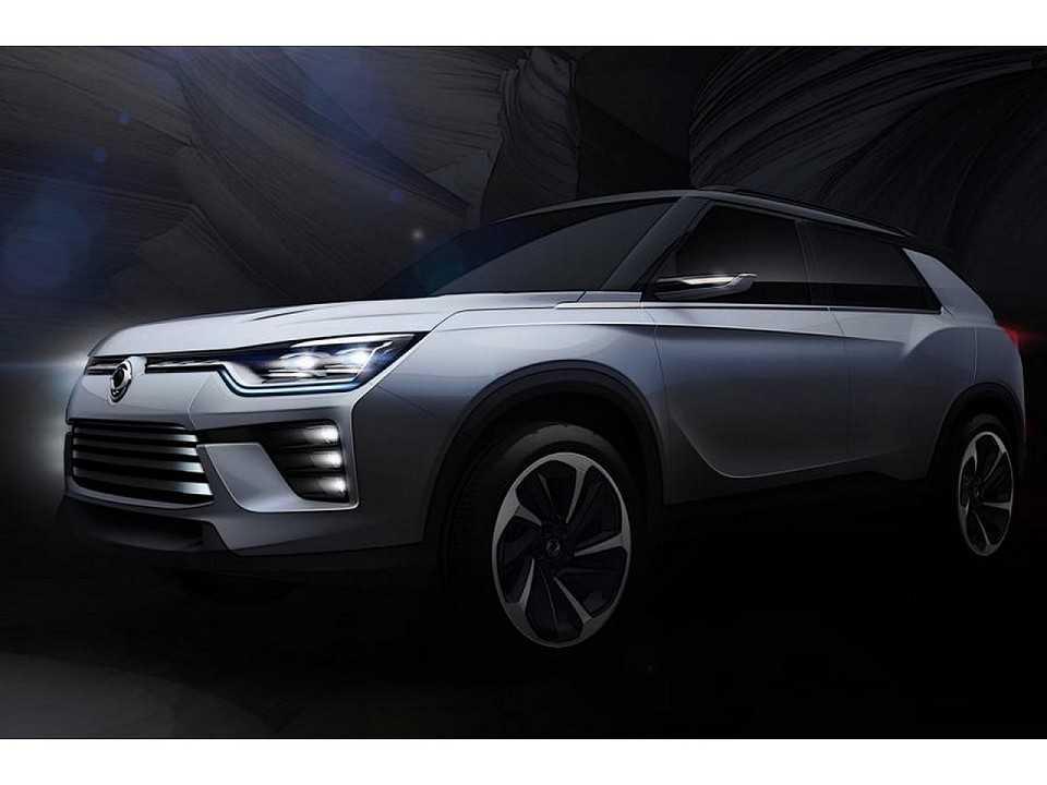 SsangYong SIV-2 Hybrid 2017
