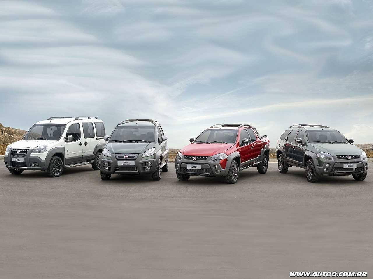 Linha Fiat Adventure Extreme