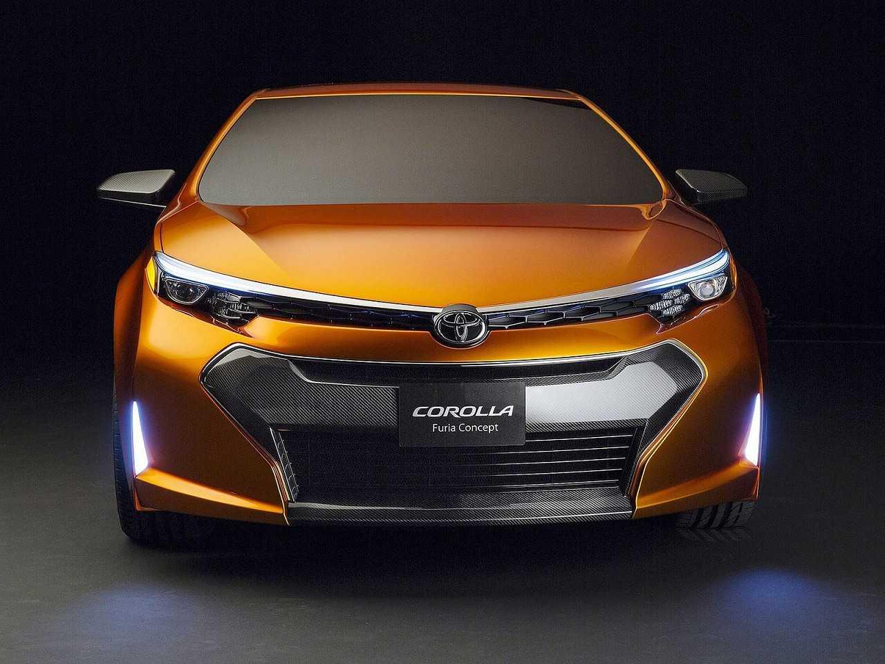 Toyota Corolla Furia Concept, protótipo que inspirou a geração lançada em 2014 no Brasil