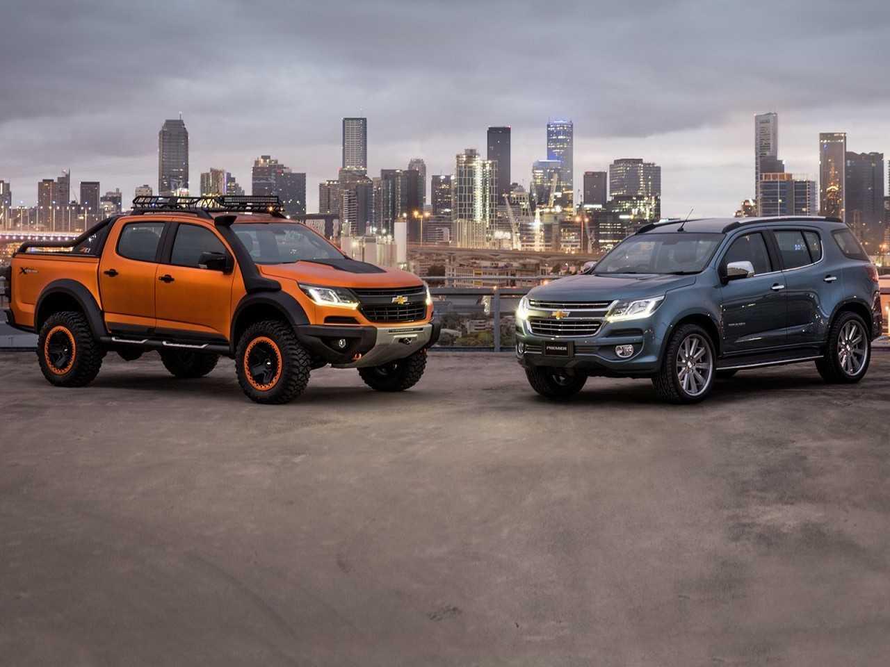 Colorado Xtreme e Trailblazer Premier: versões especiais revelam as mudanças no visual dos modelos da Chevrolet