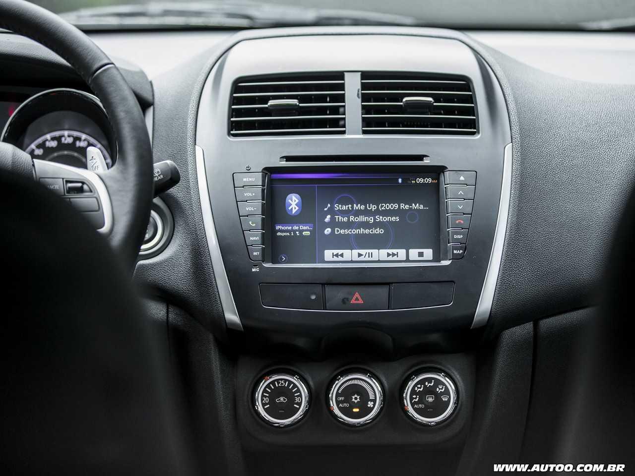 MitsubishiASX 2016 - console central