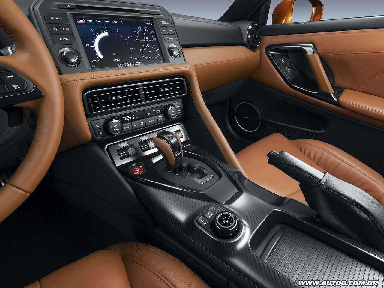 NissanGT-R 2017 - console central