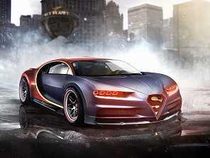 Os carros dos super-heróis