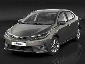Facelift do Toyota Corolla estreia no Brasil em mar�o de 2017