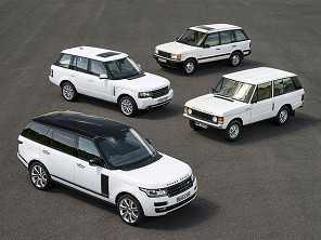 As curiosidades sobre o Range Rover