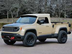 Renegade vira picape Jeep Comanche