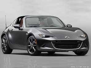 Mazda revela o MX-5 com teto rígido