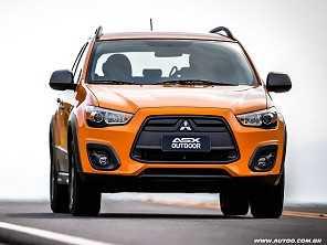 Mitsubishi ASX Outdoor ganha opção automática