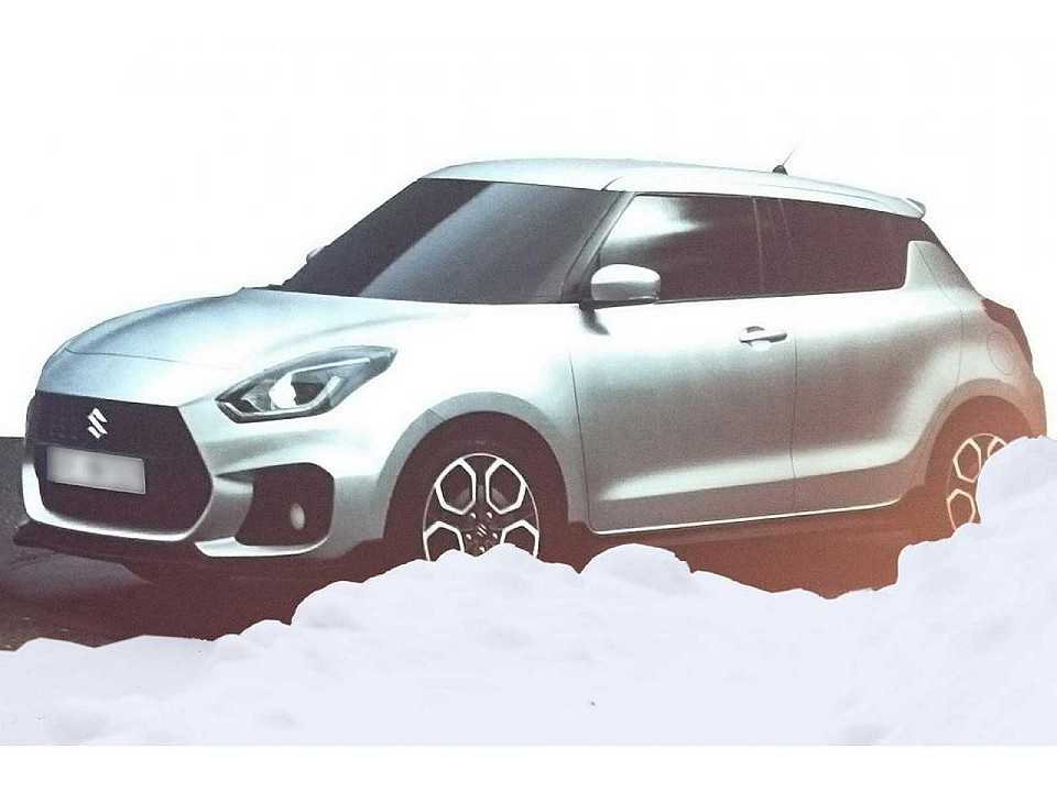 Nova geração do Suzuki Swift vaza na internet