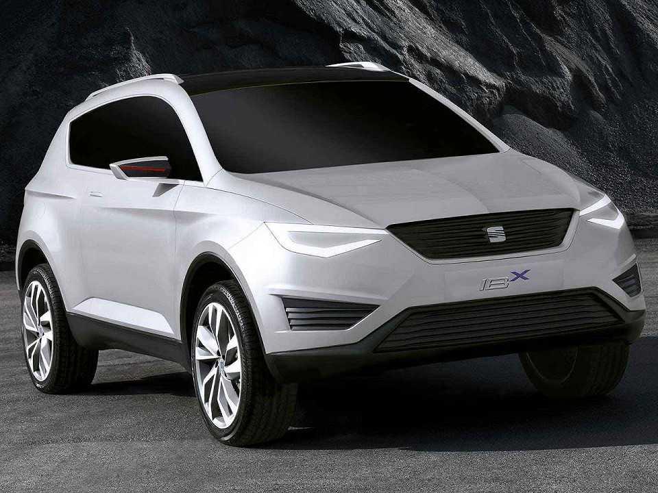 Conceito Seat IBX, um dos estudos de SUV compacto feito pela marca espanhola