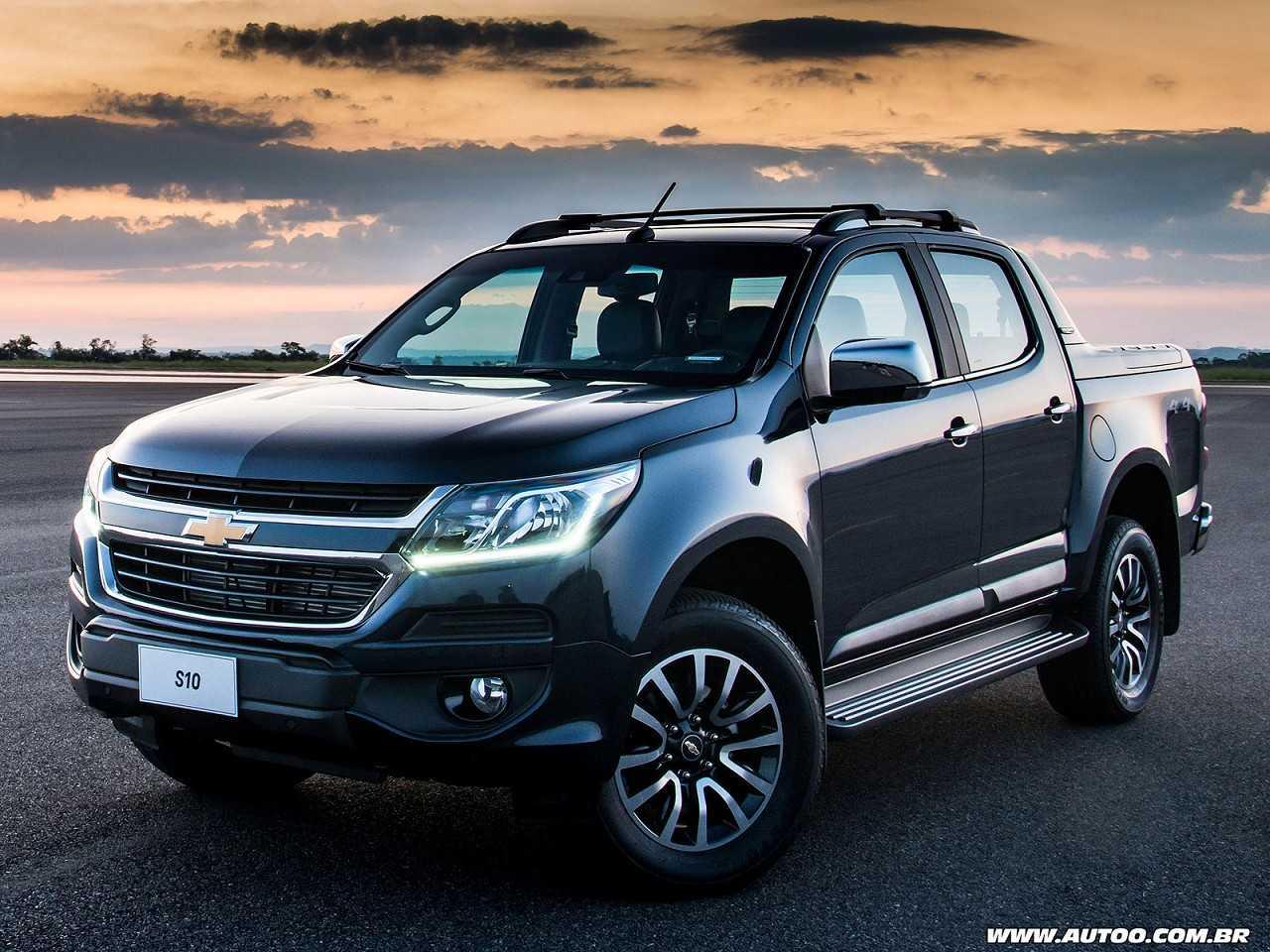 ChevroletS10 2017 - ângulo frontal