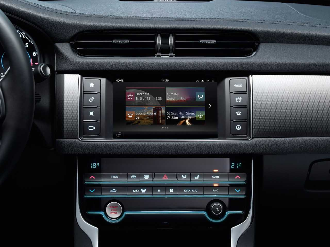 JaguarXF 2016 - console central