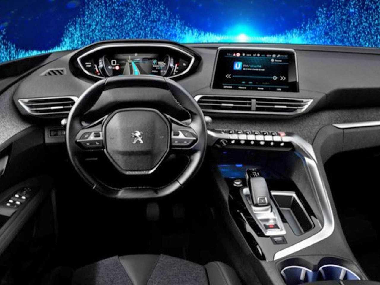 Novo painel do Peugeot 3008 surpreende