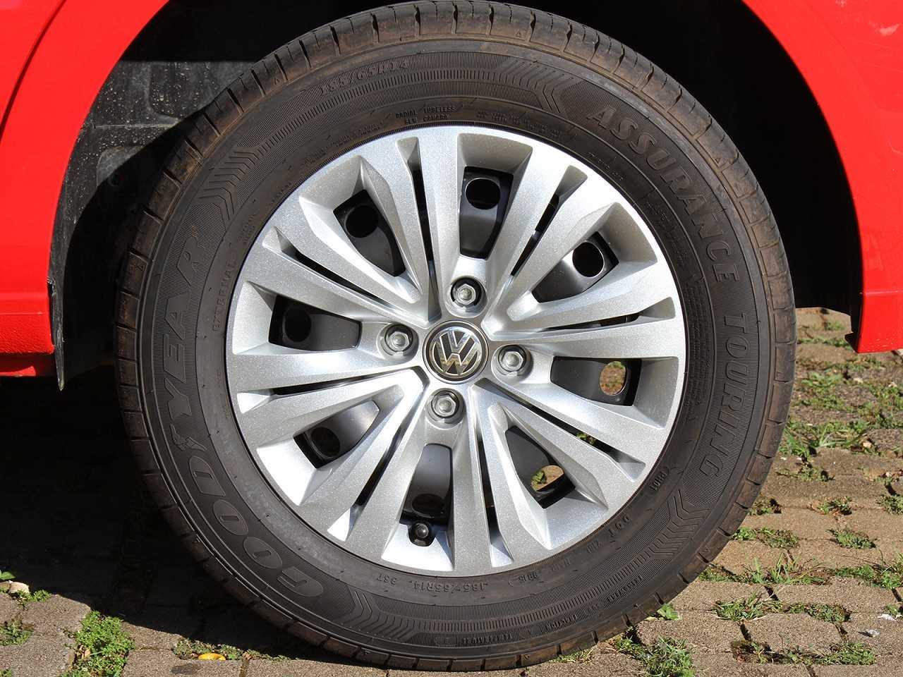 VolkswagenGol 2017 - rodas