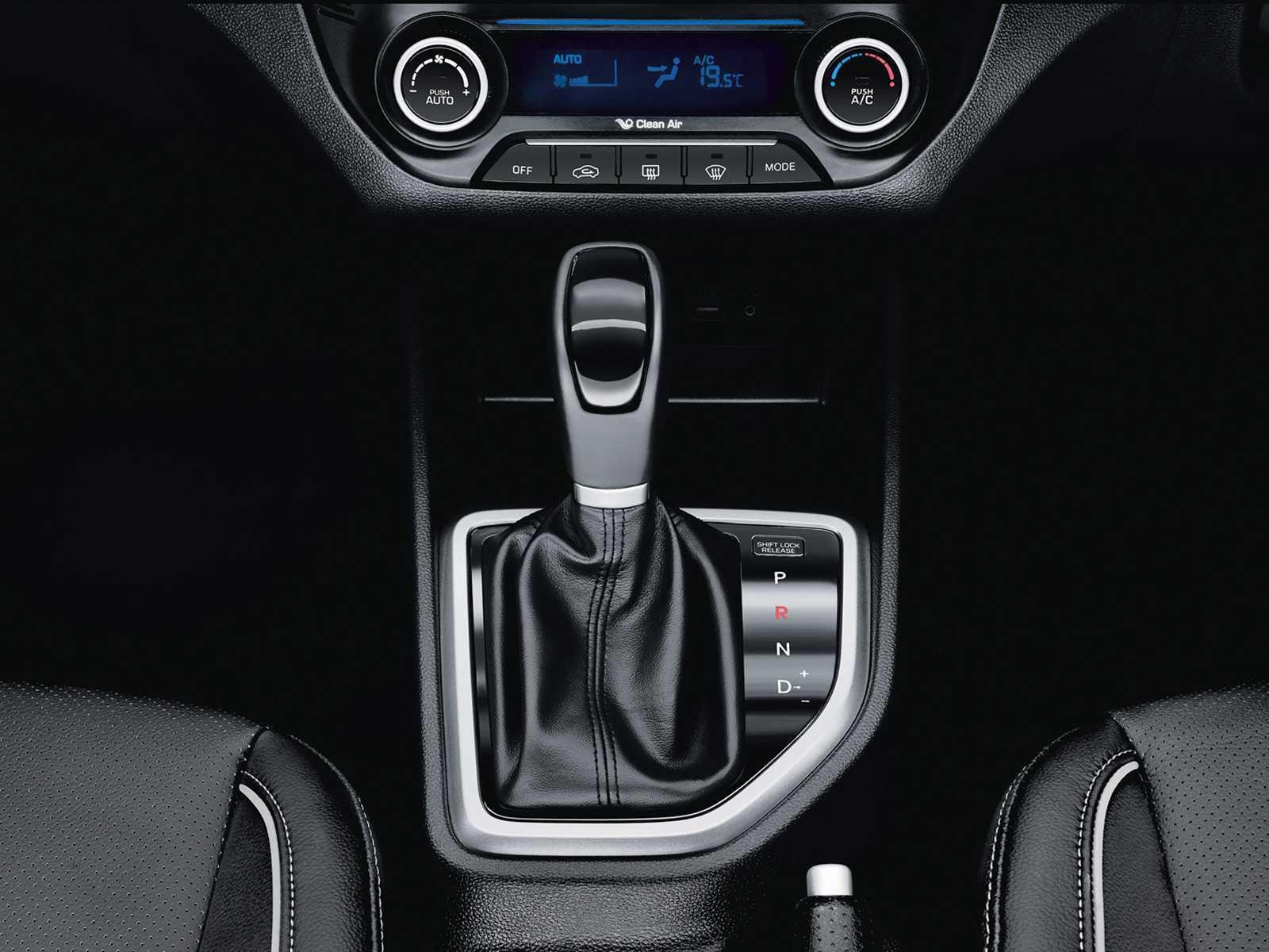 HyundaiCreta 2016 - câmbio