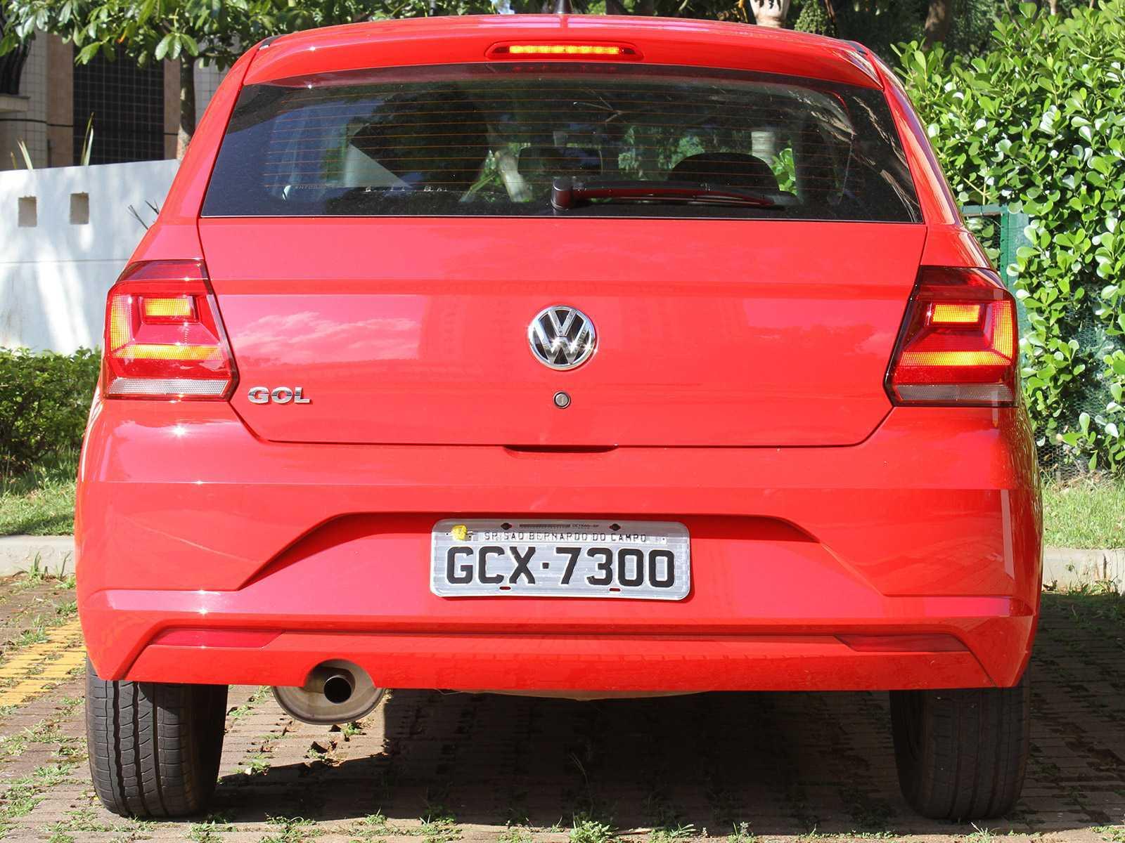 VolkswagenGol 2017 - traseira