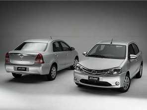 Veja todos os preços e versões do Toyota Etios 2017