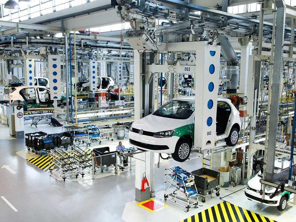 Fábrica da Volkswagen em São Bernardo do Campo (SP)