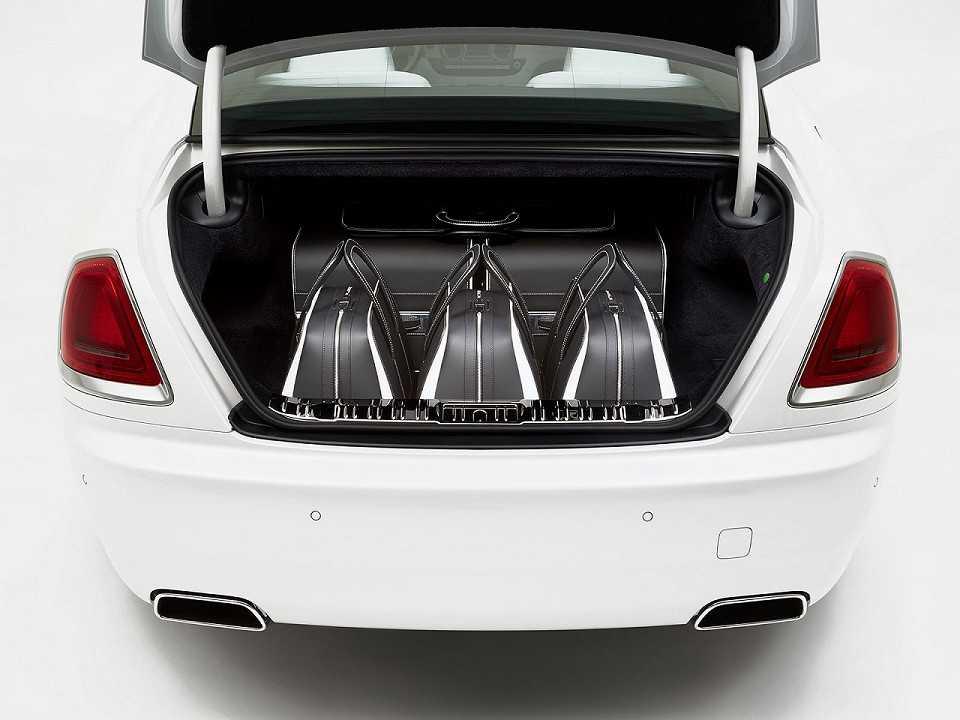 Jogo de malas da Rolls-Royce desenvolvido para o Wraith
