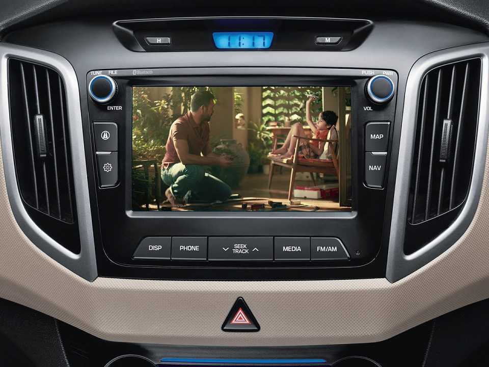 HyundaiCreta 2016 - console central