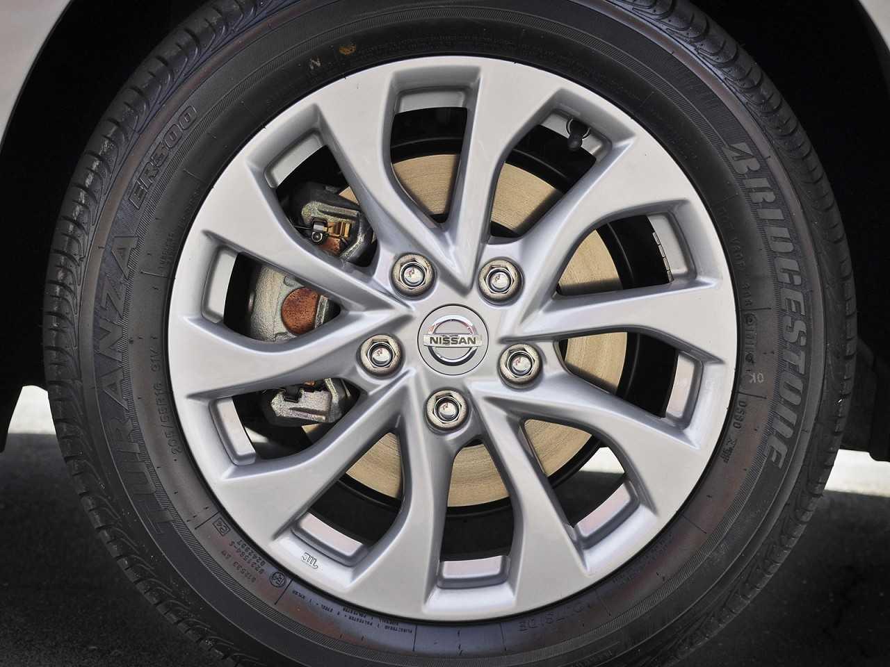 NissanSentra 2017 - rodas