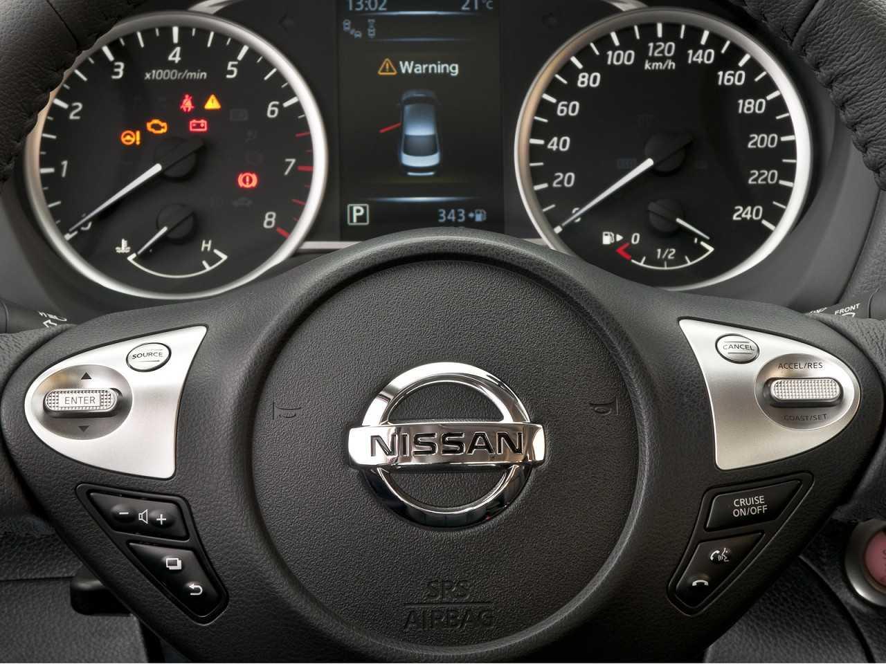 NissanSentra 2017 - painel de instrumentos