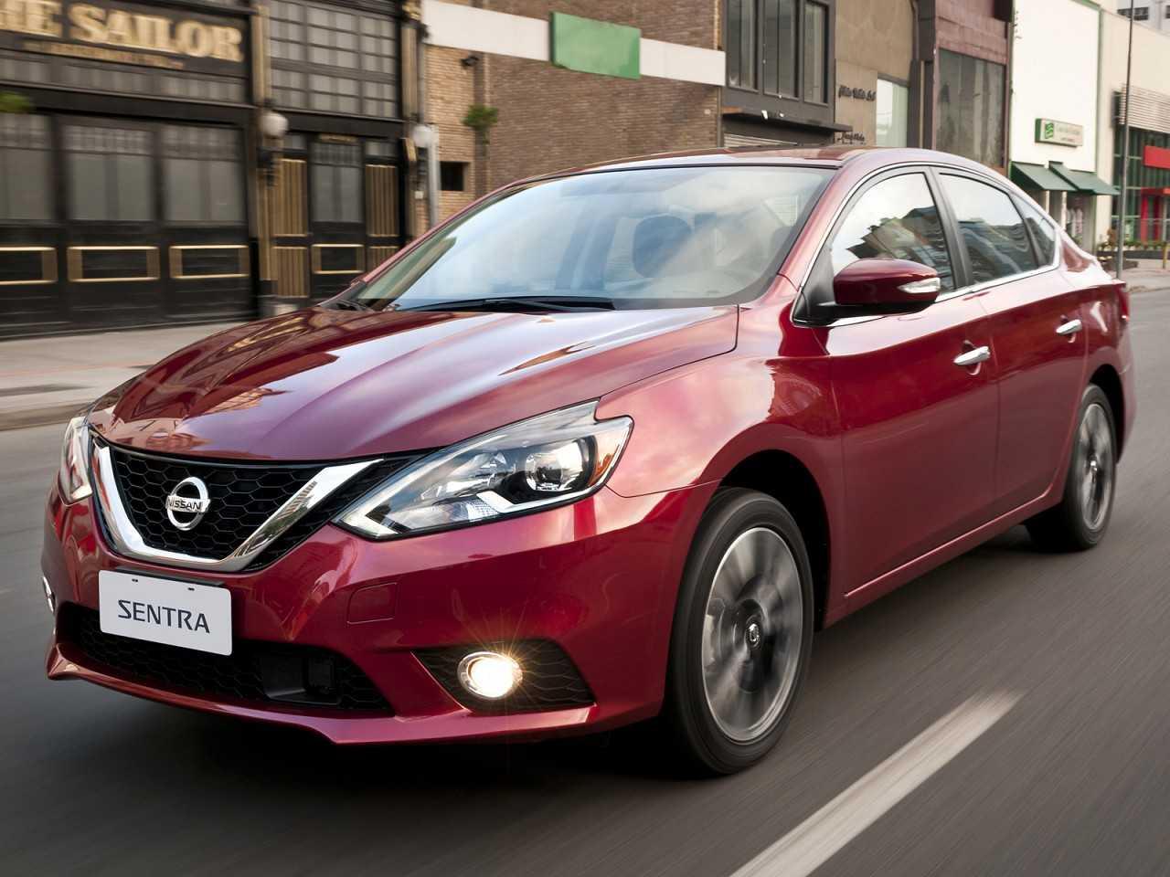 NissanSentra 2017 - ângulo frontal