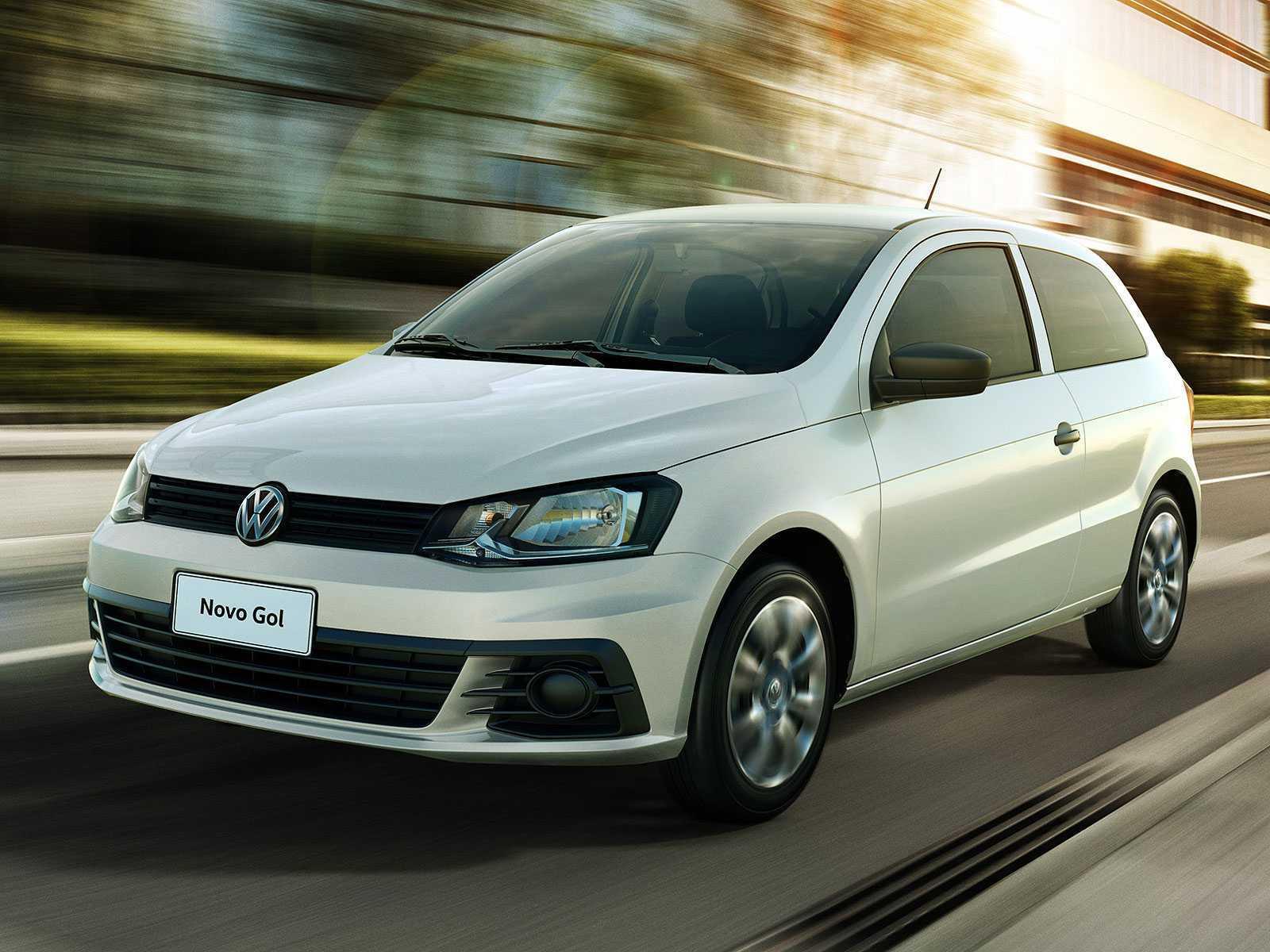 VolkswagenGol 2017 - ângulo frontal