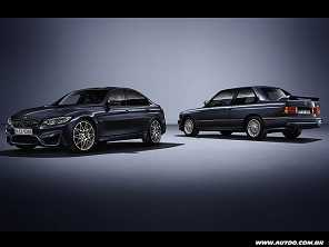 BMW comemora os 30 anos do M3