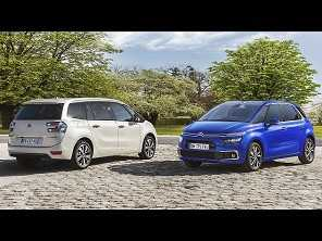 Facelift para os Citroën C4 Picasso e Grand C4 Picasso chega às lojas em abril