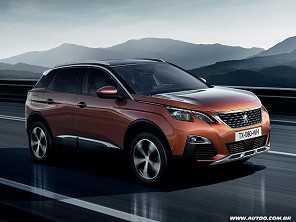 Peugeot mostra a nova gera��o do 3008