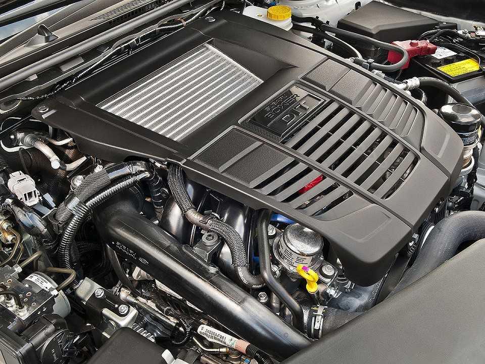 Motor Boxer utilizado pela Subaru