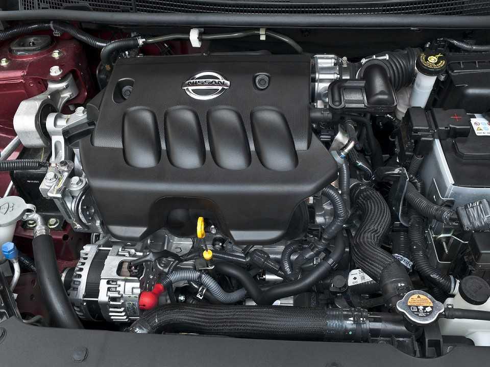 NissanSentra 2017 - motor