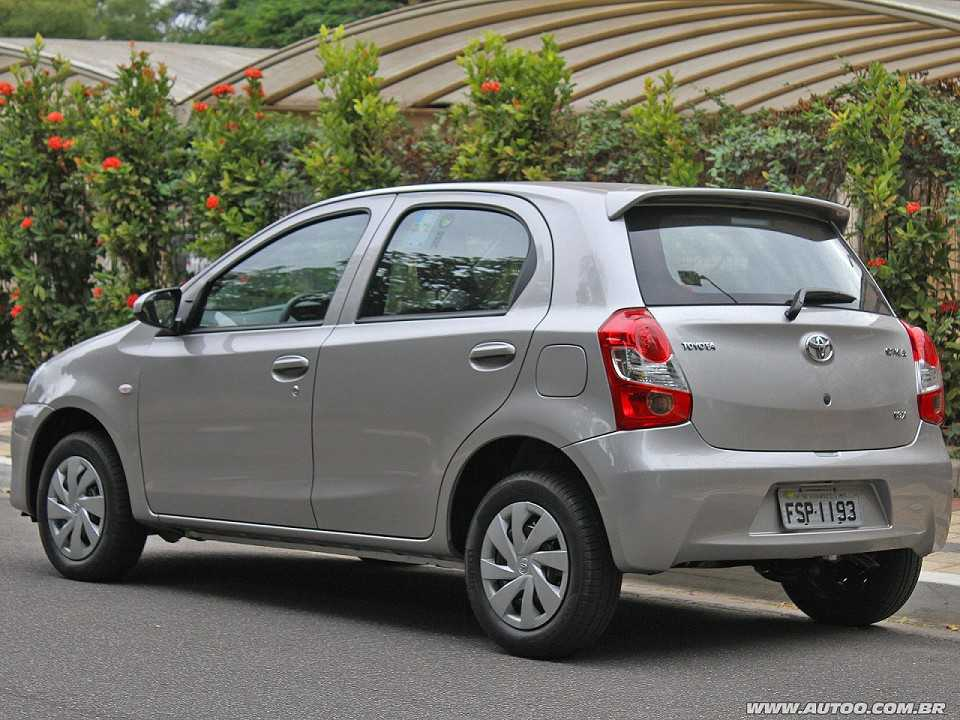 ToyotaEtios 2017 - ângulo traseiro