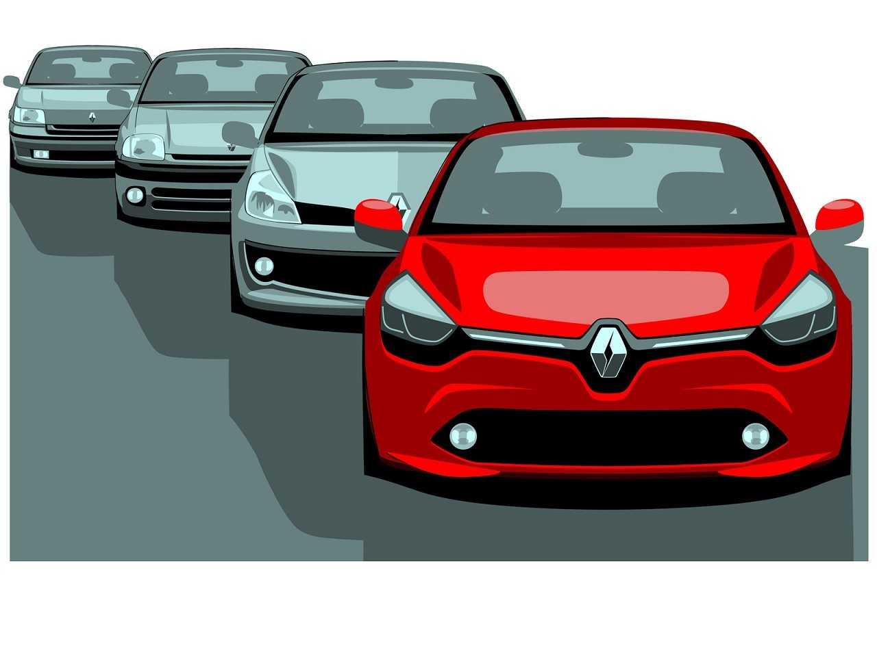 Renault Clio: um quarto de século de história