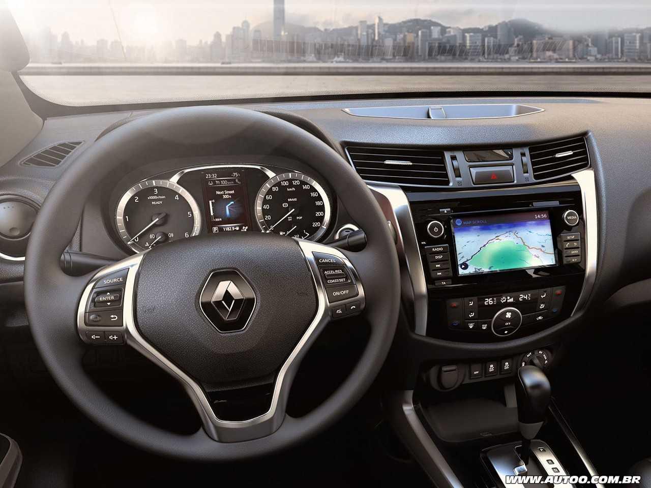 RenaultAlaskan 2017 - painel