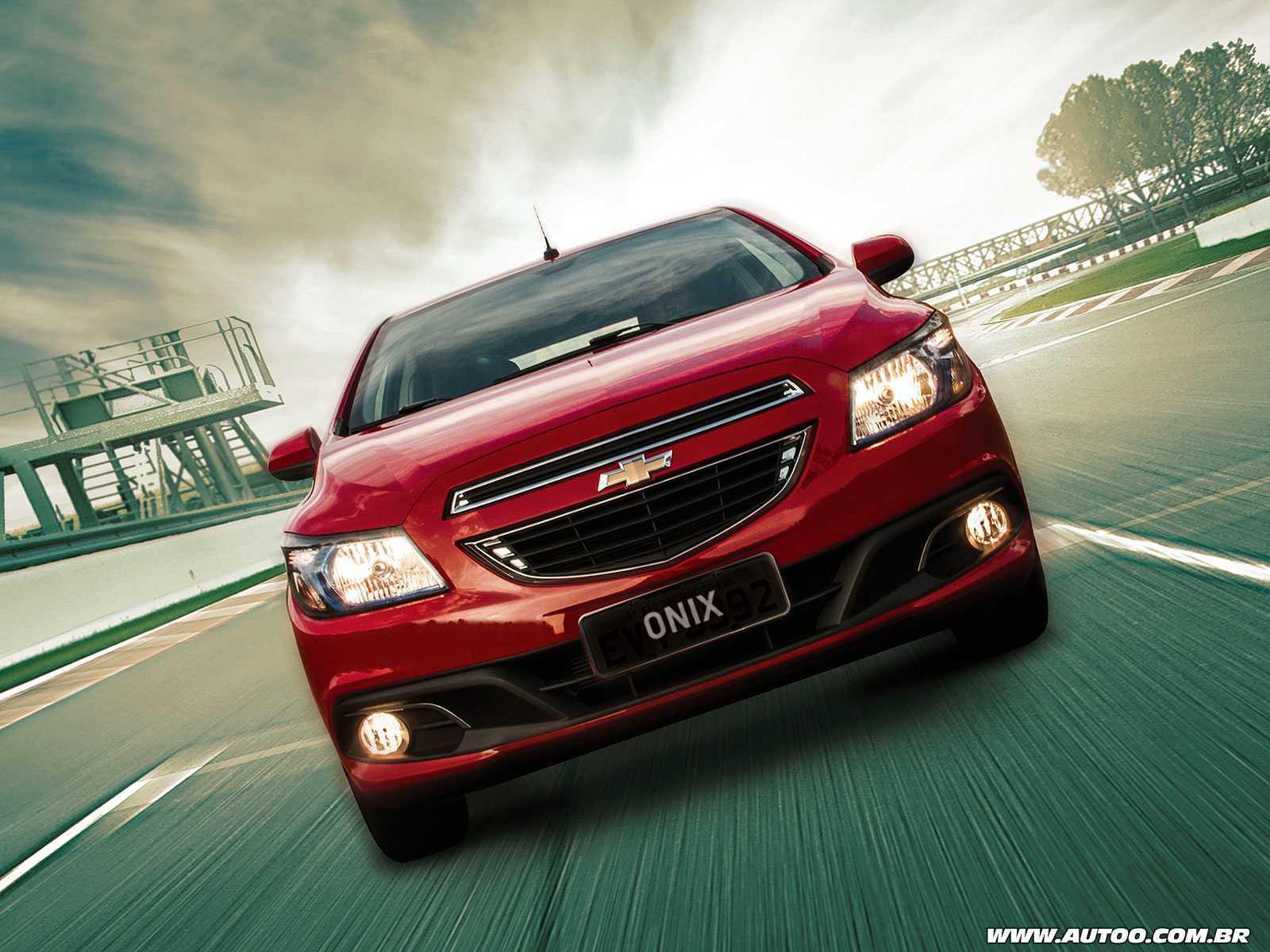 ChevroletOnix 2016 - frente