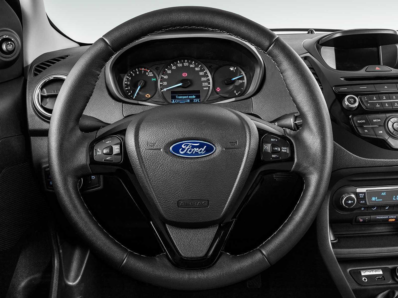 FordKa 2017 - volante